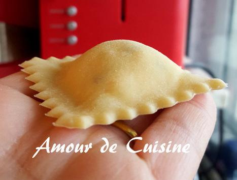 raviolis fait maison, pate à ravioles | Cuisine Algerienne, cuisine du monde | Scoop.it
