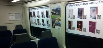 """Spanish Railway Launches """"Library Train"""" 