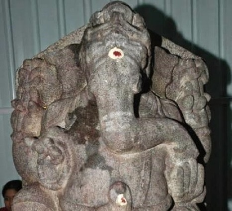 800 year old Ganesh idol discovered in sugar factory | Archaeology News Network | Kiosque du monde : Asie | Scoop.it