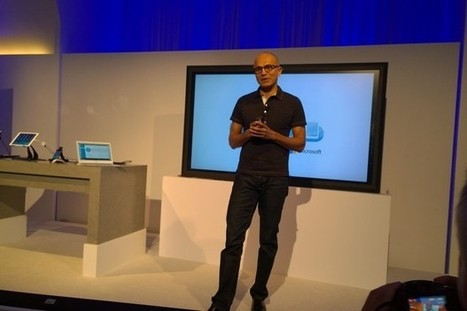 Satya Nadella, Office for iPad, and the big new Microsoft vision - CITEworld | Apple iPhone, iPad and iCloud for business! | Scoop.it