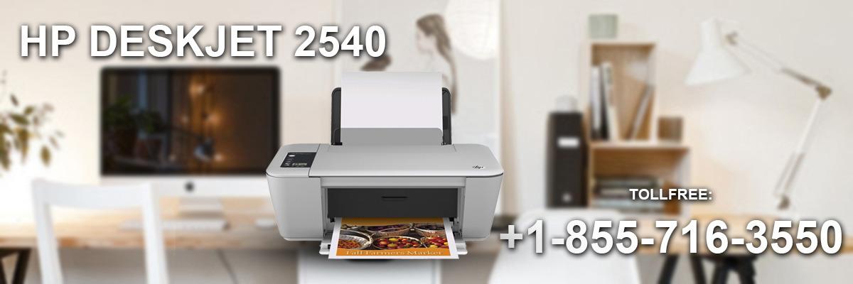 Resolve your HP DeskJet 2540 error state | hp p