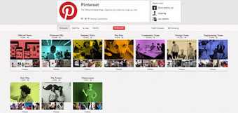 Pinterest Insider: Pinterest Brings Back Their Own Page | Kevin I Mills | Scoop.it