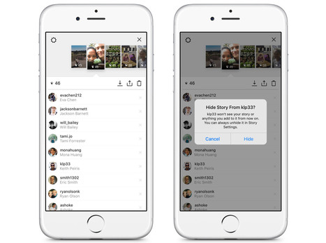 Avec Stories, Instagram imite Snapchat | Branchez-vous | Formation multimedia | Scoop.it