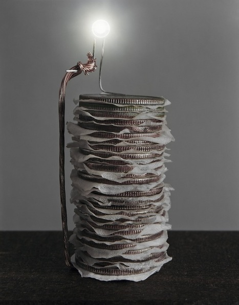 Artistic Scientist Generates Electricity from Different Foods - My Modern Metropolis   Le It e Amo ✪   Scoop.it