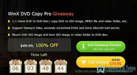 Offre promotionnelle : WinX DVD Copy Pro gratuit jusqu'au 31/1 ! | Freewares | Scoop.it