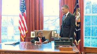 'Kid President' meets President Obama | Radio Show Contents | Scoop.it