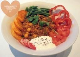 Masala Lentil Curry Bowl | The Basic Life | Scoop.it