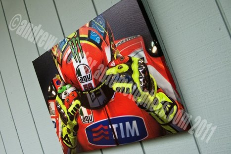 Andrew Wheeler | AutoMotoPhoto | Limited Edition Rossi being offered at Indy Riders For Health Auction | Ductalk Ducati News | Scoop.it