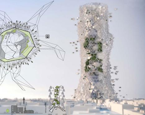 City-like Voronoi Skyscraper - eVolo   Architecture Magazine   Dense Living   Scoop.it