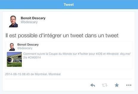 Twitter : une nouvelle version du ReTweet en cours de déploiement ? | PITIWIKI & les réseaux sociaux | Scoop.it