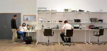 Visite guidée du plus grand Fab Lab de France - Capital.fr   Changer la donne   Scoop.it
