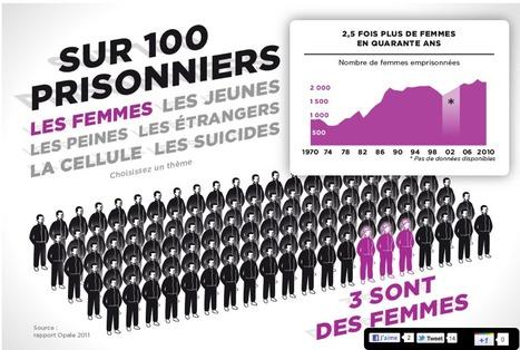 Prisons françaises : opération portes ouvertes | OWNI [INFOGRAOHIC] | 9m² | Scoop.it