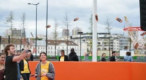 MTT créé le championnat de France de lancer de téléphones avec #ThePhoneGame | streetmarketing | Scoop.it