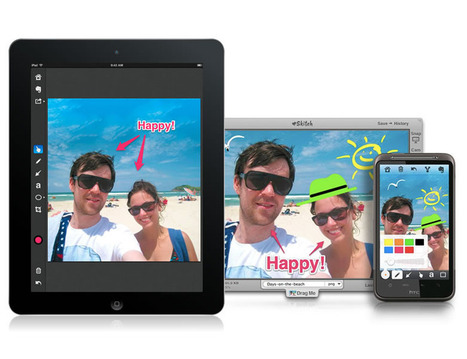 Skitch - Annotate, edit and share your screenshots and images...fast.   Banco de Aulas   Scoop.it