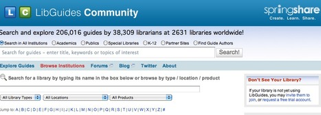 LibGuides Community Site | Teaching in the XXI Century | Scoop.it