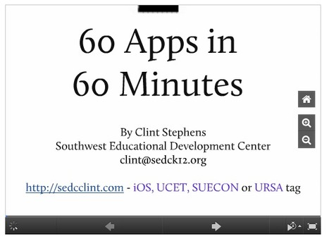 60 Educational iPad Apps for Teachers ~ Educational Technology and Mobile Learning | Students and Digital Products | Scoop.it