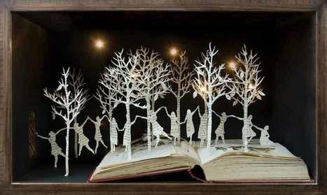 Portfolio Book-Cut Sculpture | アート/デザイン | Scoop.it