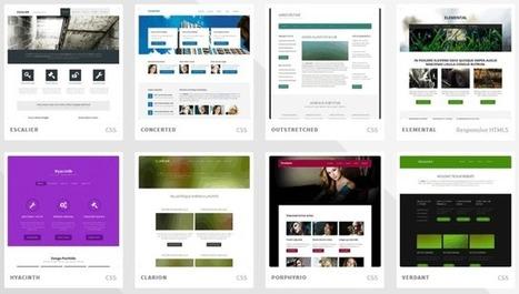 Más de 800 plantillas HTML5 y CSS para d...