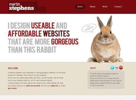Round-up Of Excellent HTML5 Web Designs Inspiration | HybridLava | Web-Design | Scoop.it