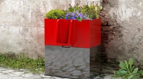 Nantes. Un urinoir design et écolo pour les pipis de rue   Économie circulaire locale et résiliente pour nourrir la ville   Scoop.it