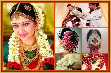 flowers at indian wedding humsaathsaath sc