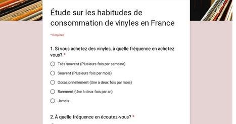 Diggers Factory lance avec Technopol & Disquaires de Paris une Étude sur les habitudes de consommation de vinyles en France | MUSIC:ENTER | Scoop.it