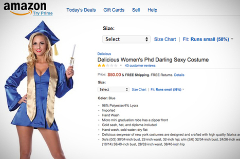 """Happy Halloween: Actual PhDs respond to Amazon's """"women's sexy PhD"""" costume  and it is a treat"""