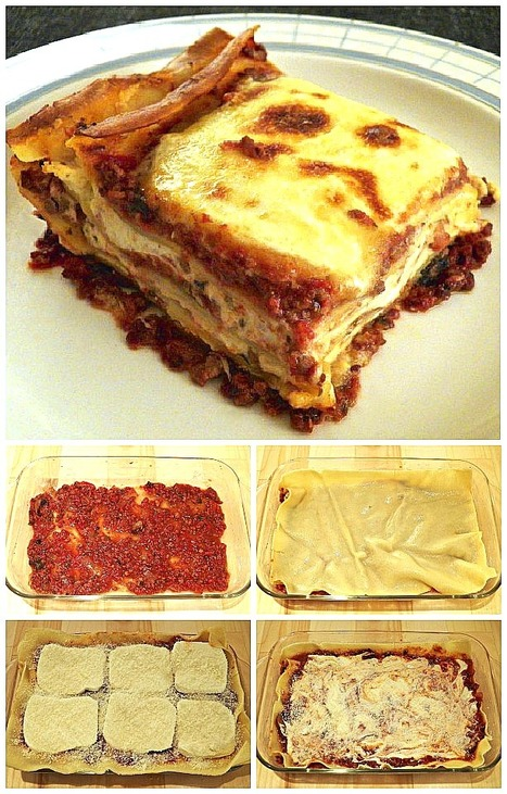 A US Family with Roots in Le Marche and their recipes: Lasagna Bartolini | Le Marche and Food | Scoop.it