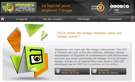 Images Actives - Le logiciel pour explorer l'image | 21st Century Tools for Teaching-People and Learners | Scoop.it