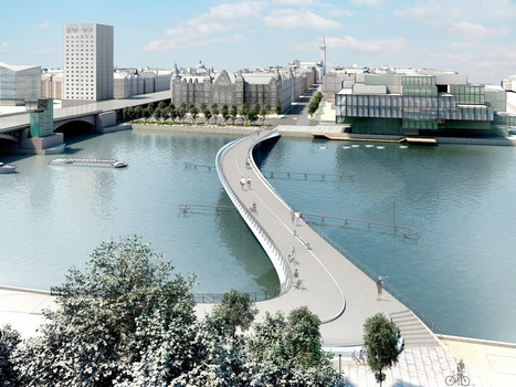Team provide winning proposal for new Copenhagen bridge | green streets | Scoop.it