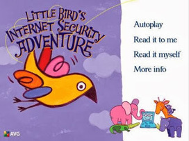 iDevice in the Mountains: Little Bird - An Internet Security Storybook for Kids | Drifting with iPads and iPods | Scoop.it