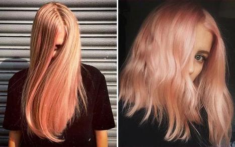 Blorange: de haarkleurtrend die we dit voorjaar maar al te graag proberen   kapsel trends   Scoop.it