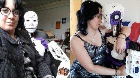 Une française est tombée amoureuse d'un robot | Une nouvelle civilisation de Robots | Scoop.it