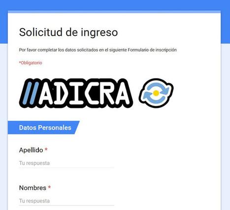 [PQS] Para que sepan: ADICRA: La asociación de profesores argentinos de informática   (PQS) Para que sepan   Scoop.it