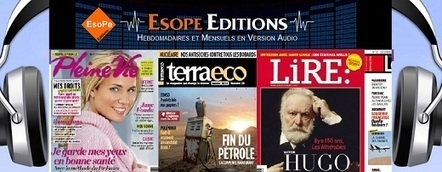 Des magazines disponibles en version audio | livres audio, lectures à voix haute ... | Scoop.it