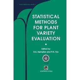 Statistical Methods for Plant Variety Evaluation (Plant Breeding) | PlantBioInnovation | Scoop.it