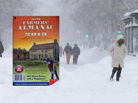 """Farmers' Almanac"" predicts a ""bitterly cold"" winter 