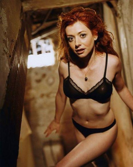 Photos : Alyson Hannigan en lingerie sexy pour Stephen Danelian | Radio Planète-Eléa | Scoop.it