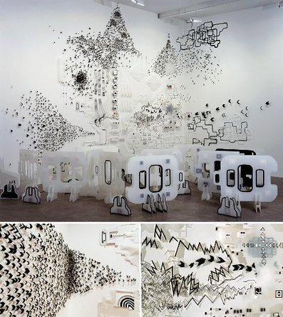 Artistic Abstraction: Installations are Like Doodles in 3D | Designs & Ideas on Dornob | What Surrounds You | Scoop.it