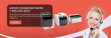 Brother Printer Support Canada Number 1-844-888-3870 | Scoop it