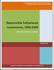 Responsible Fatherhood Investments, 1994-2009 - The Annie E. Casey Foundation | Healthy Marriage Links and Clips | Scoop.it
