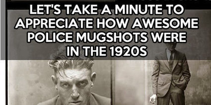Police mugshots in the 1920s… | Collateral Websurfing | Scoop.it