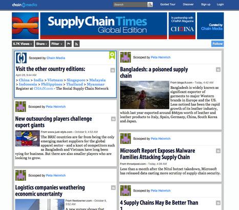 Global Supply Chain Management   SocialMediaDesign   Scoop.it