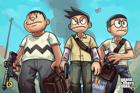 Doraemon Gta Vice City Games Free Download