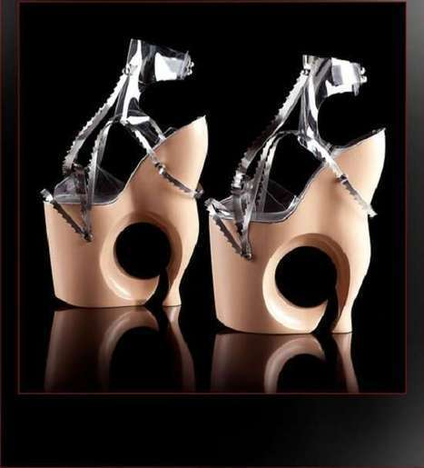 80 Outrageous Platform Designs - These Sky-High Footwear Accessories Revive Glamour disco Era   Only the EXTRAordinary   Scoop.it
