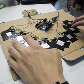 Capacitive-Touch Arduino Keyboard Piano - Instr