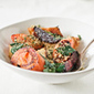 Roasted Root Vegetable Salad with Herbed Breadcrumbs | À Catanada na Cozinha Magazine | Scoop.it