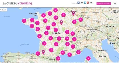 La carte des espaces de coworking partout en France | Les outils du Web 2.0 | Scoop.it