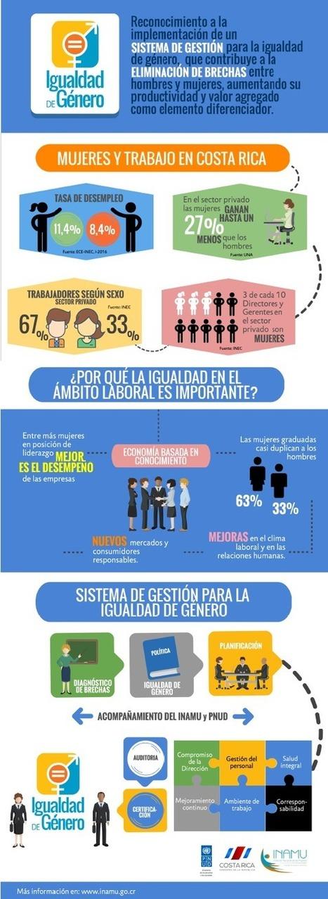 Se relanza el Sello de Igualdad de Género en Costa Rica | Genera Igualdad | Scoop.it
