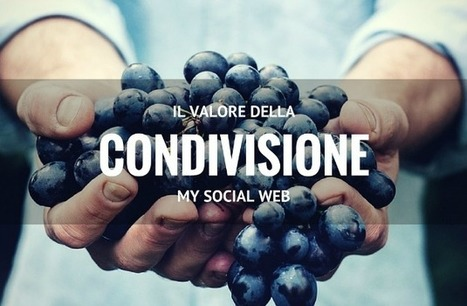 Il valore della condivisione nel web marketing | Marketing relazionale e Social Media | Scoop.it
